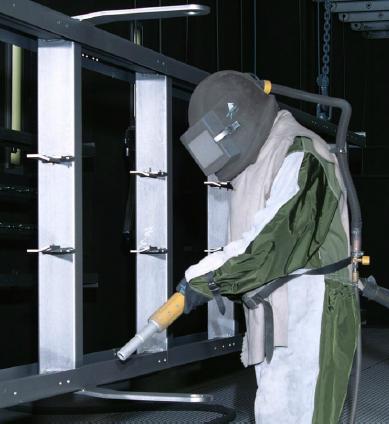 Lohnbearbeitung Ihrer Werkstücke im Bereich Pulverbeschichtungstechnik