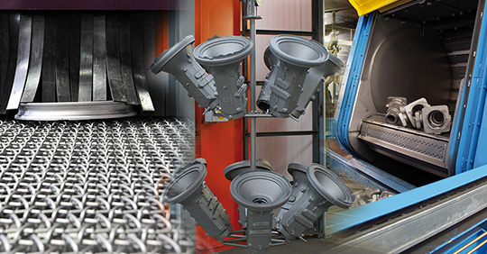 Lohnbearbeitung Ihrer Werkstücke im Bereich Schleuderradstrahltechnik, Injektorstrahltechnik, Druckstrahltechnik oder Nassstrahltechnik